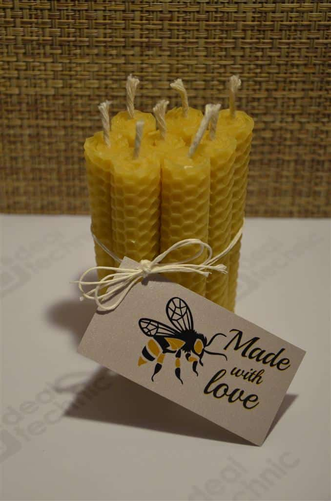... Wedding Gifts For Guests Wedding Beeswax Candle Favour Guest Gifts