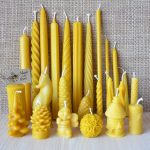 Bundle-of-Handmade-Pure-Beeswax-Dipped-Candles-Different-Size-and-Shapes-252072334349