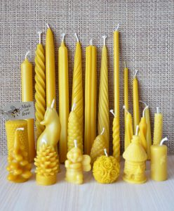 Bundle-of-Handmade-Pure-Beeswax-Dipped-Candles-Different-Size-and-Shapes-252072334349-2