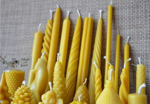 Bundle-of-Handmade-Pure-Beeswax-Dipped-Candles-Different-Size-and-Shapes-252072334349-5