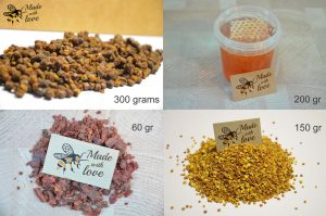 Variation-of-Bee-Bread-Propolis-Pollen-Honey-Honeycomnb-Natures-pack-252258563333-44030