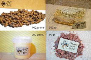 Variation-of-Bee-Bread-Propolis-Pollen-Honey-Honeycomnb-Natures-pack-252258563333-44036