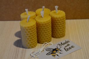 Variation-of-Bundle-of-1248-Hand-Rolled-Handmade-Pure-Beeswax-Candles-from-Beeswax-Sheets-252078226271-43566